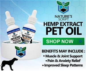 Nature's Script CBD Pet Oil