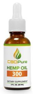 CBD Hemp Oil 300 mg