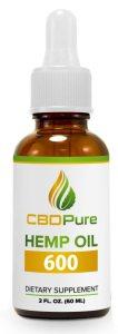 CBD Hemp Oil 600 mg