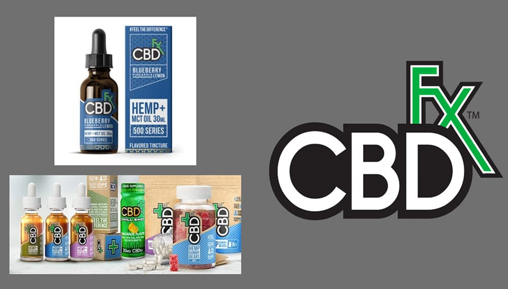 CBDfx CBD Products