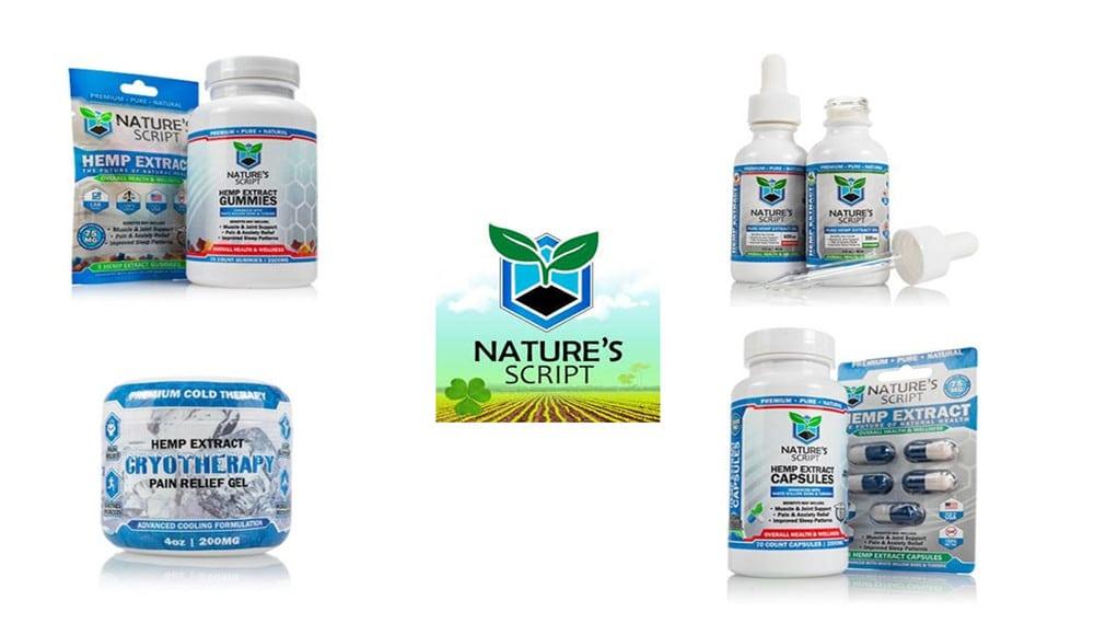 Natures Script CBD Products